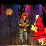 """Into The Woods,"" Little Red Riding Hood and the Wolf"