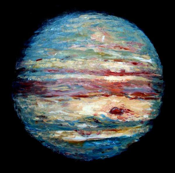 Jupiter - Dorrellart, The Paintings of David Dorrell
