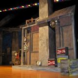Godspell Shanty during construction