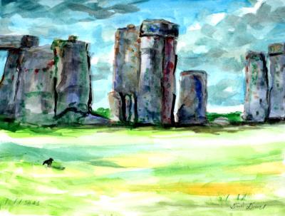 Stone Henge sunny view