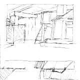 Sketch for Godspell Set