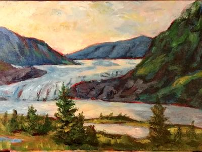 Mendenhall Glacier #1